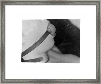 Untitled In Black And White Framed Print by Mojo THF