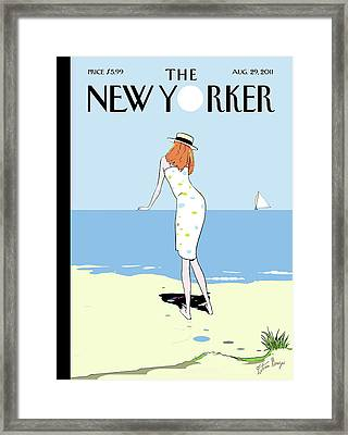 New Yorker August 29th, 2011 Framed Print