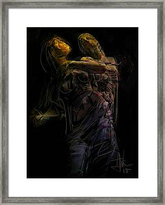 untitled Jan 10 2015 Framed Print