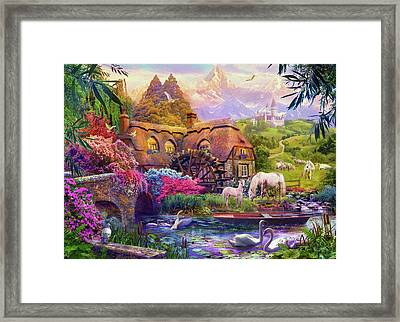 Light Palace Framed Print by Jan Patrik Krasny