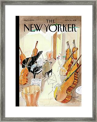 New Yorker November 14th, 2011 Framed Print