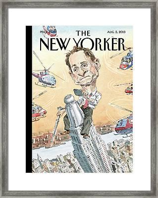 New Yorker August 5th, 2013 Framed Print