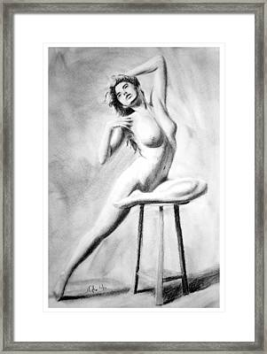 Framed Print featuring the painting Untitled by Joseph Ogle