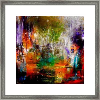 Reflecting Back Framed Print by Lisa Kaiser