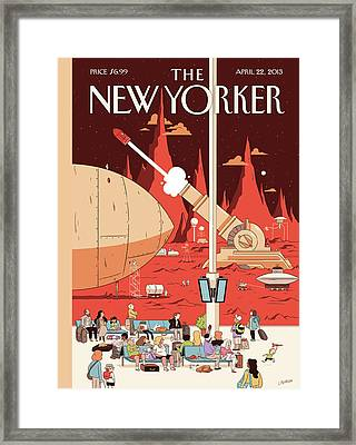 New Yorker April 22nd, 2013 Framed Print