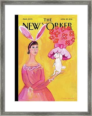 New Yorker April 25th, 2011 Framed Print