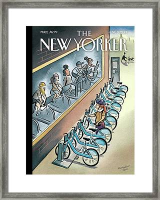 New Yorker June 3rd, 2013 Framed Print