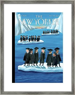 New Yorker May 28th, 2012 Framed Print by Mark Ulriksen