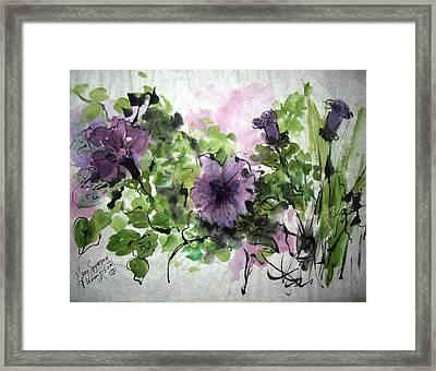 Untitled Framed Print by Mary Spyridon Thompson