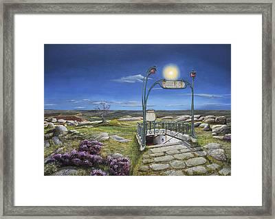 Untitled No. 595 Framed Print by Trevor Neal