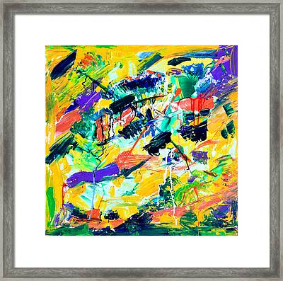 Untitled Number Eighteen Framed Print