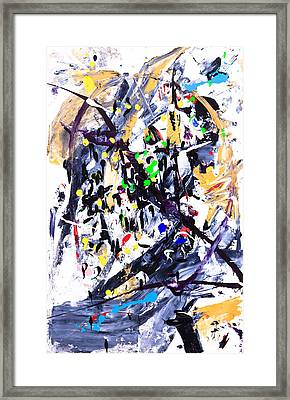 Untitled Number Fifteen  Framed Print