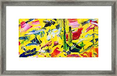 Untitled Number Twenty Framed Print