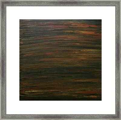 Untitled Painting 21 Framed Print by Drew Shourd