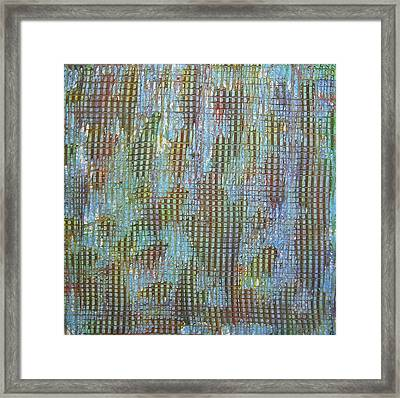 Untitled Painting 5 Framed Print by Drew Shourd