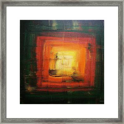 Untitled Painting 6 Framed Print by Drew Shourd