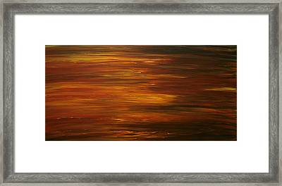 Untitled Painting 7 Framed Print by Drew Shourd
