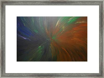 Untitled Painting 8 Framed Print by Drew Shourd