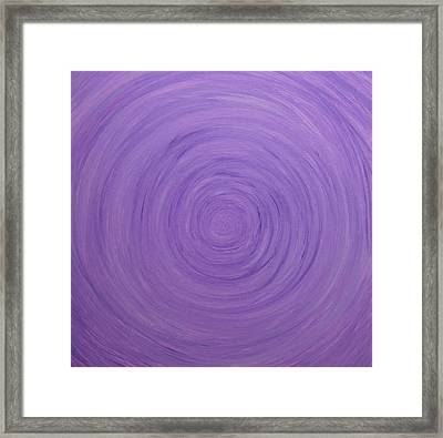 Untitled Painting 9 Framed Print by Drew Shourd