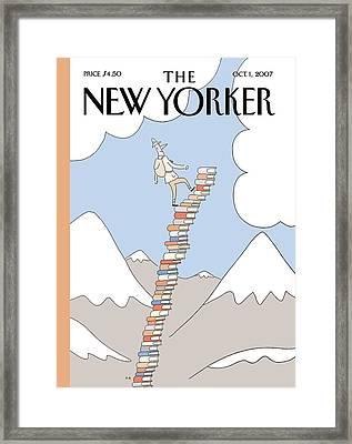 New Yorker October 1st, 2007 Framed Print