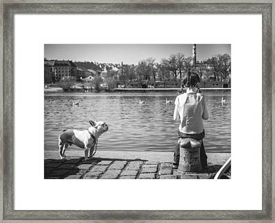 Untitled - Prague Framed Print by Cory Dewald