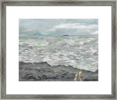 Untitled Seascape Framed Print