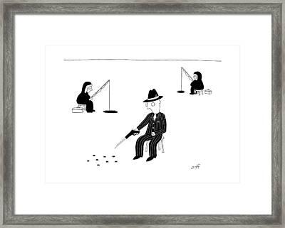 New Yorker November 7th, 2016 Framed Print by Seth Fleishman