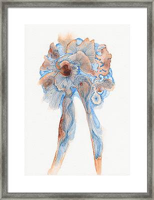 Untitled - #ss14dw003 Framed Print by Satomi Sugimoto