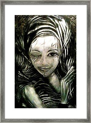 Untitled -the Seer Framed Print by Juliann Sweet