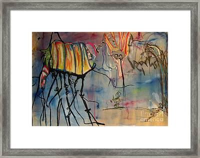 Supplication Framed Print
