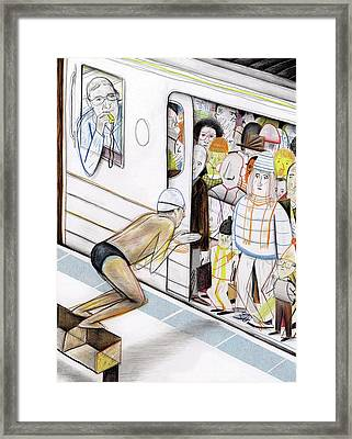 New Yorker May 14th, 2012 Framed Print