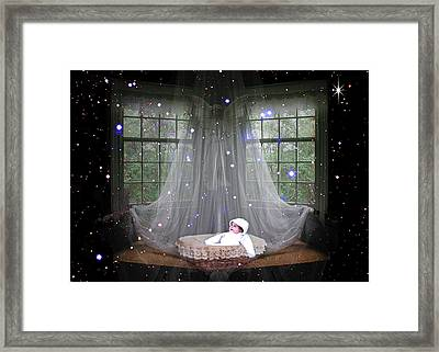 Unto Us A Child Is Born Framed Print by Paula Ayers