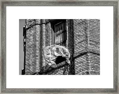 Untold News By Denise Dube Framed Print by Denise Dube