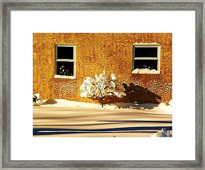 Untouched Framed Print by Christian Rooney
