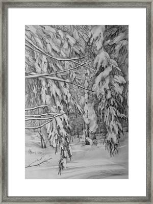 Untouched Silence Framed Print