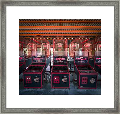 Unused Framed Print by Akos Kozari