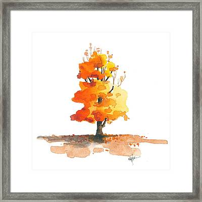Unveiling Framed Print by Christine Camp