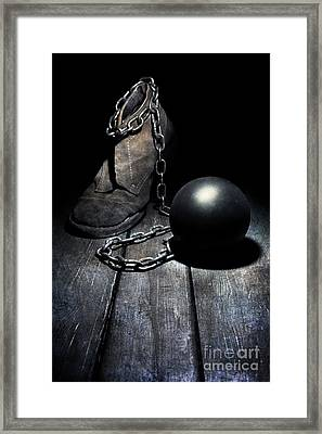 Unwanted Attachment Framed Print
