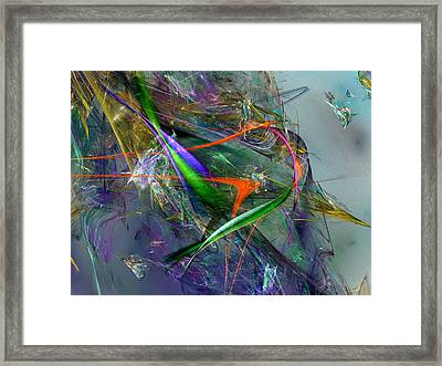 Unwelcome Unthanks Framed Print by Jeff Iverson