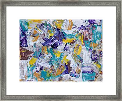 Framed Print featuring the painting Unwinding by Heidi Smith