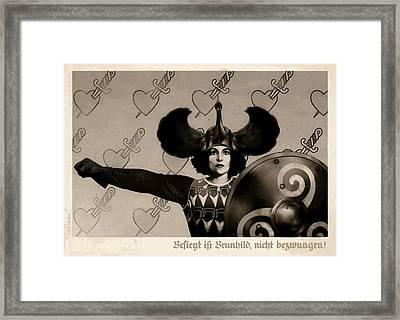 Unyielding Framed Print by Udo Linke