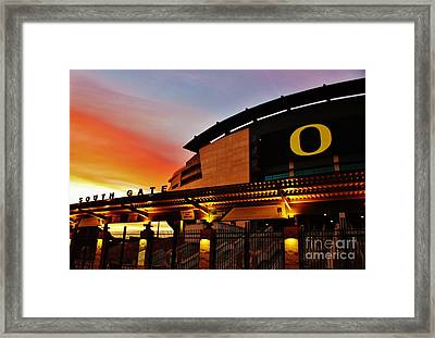 Uo 1 Framed Print by Michael Cross