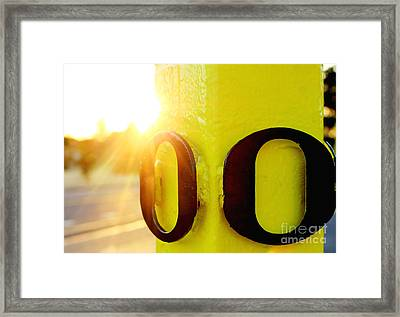 Uo 6 Framed Print by Michael Cross