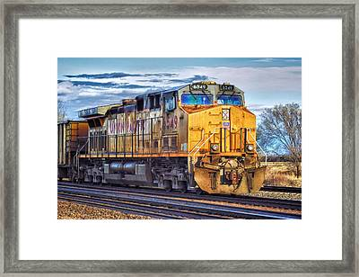 Framed Print featuring the photograph Up 6549 by Bill Kesler