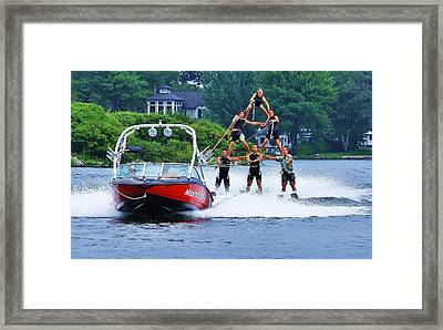 Framed Print featuring the photograph Up And Away... by Al Fritz