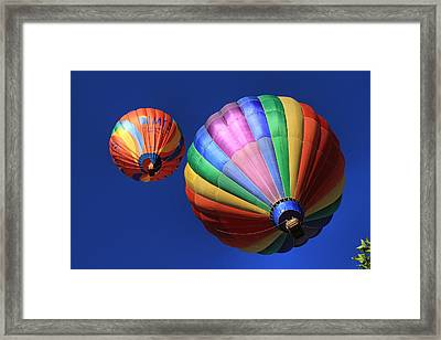 Up And Away In Reno 2 Framed Print