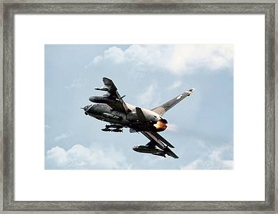 Up And Away Framed Print by Peter Chilelli