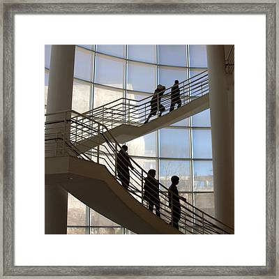 Up And Down Framed Print by Art Block Collections