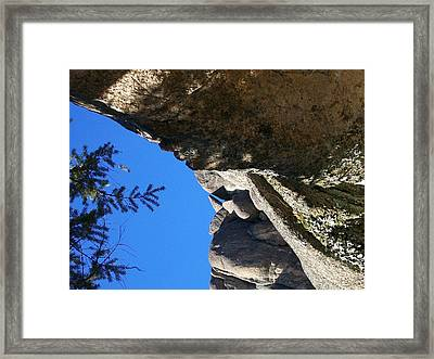 Up Around The Curve Framed Print by Jewel Hengen