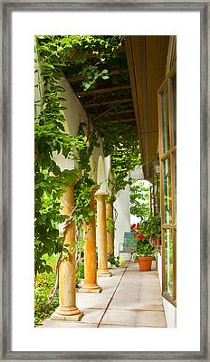 Up At The Villa Framed Print